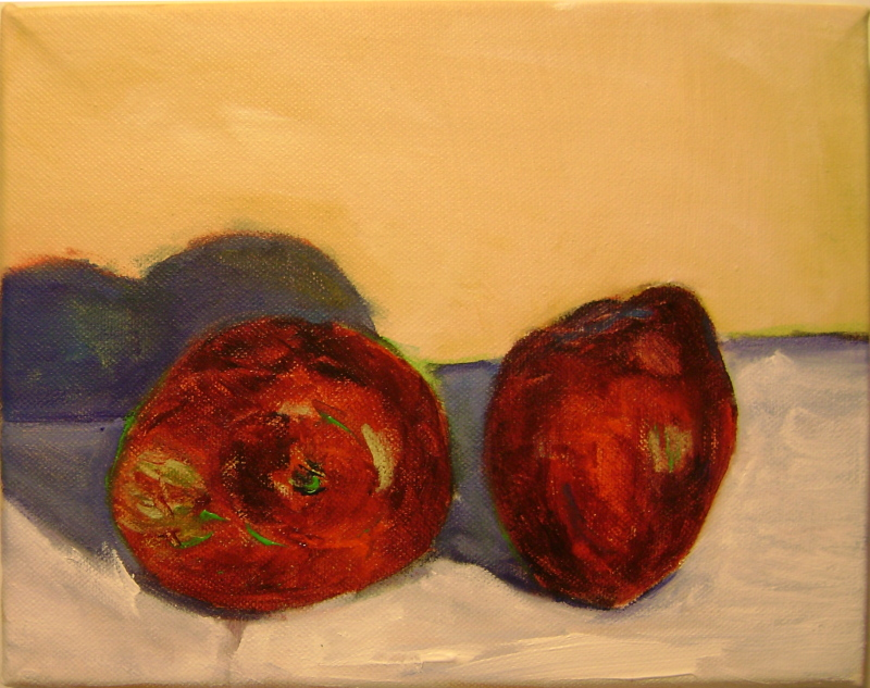 2 Delicious--Acrylic on Canvas--8x10 inches