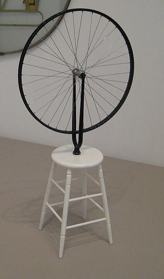 Bicycle Wheel--Marcel Duchamp, 1913