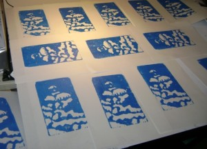 blue printed