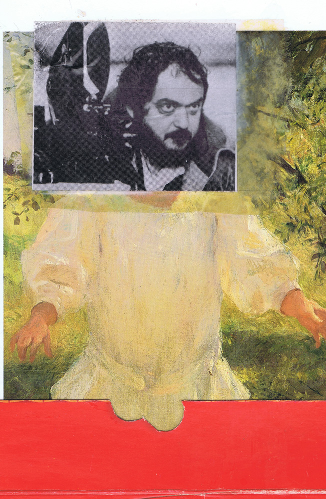 Laddie Kubrick Found photo and paper on postcard.