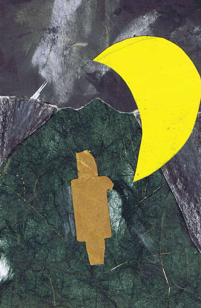 Untitled-4416 Collage and mixed media 6x4 inches