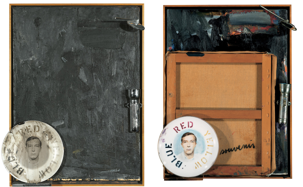 Jasper Johns Souvenir 1 and 2